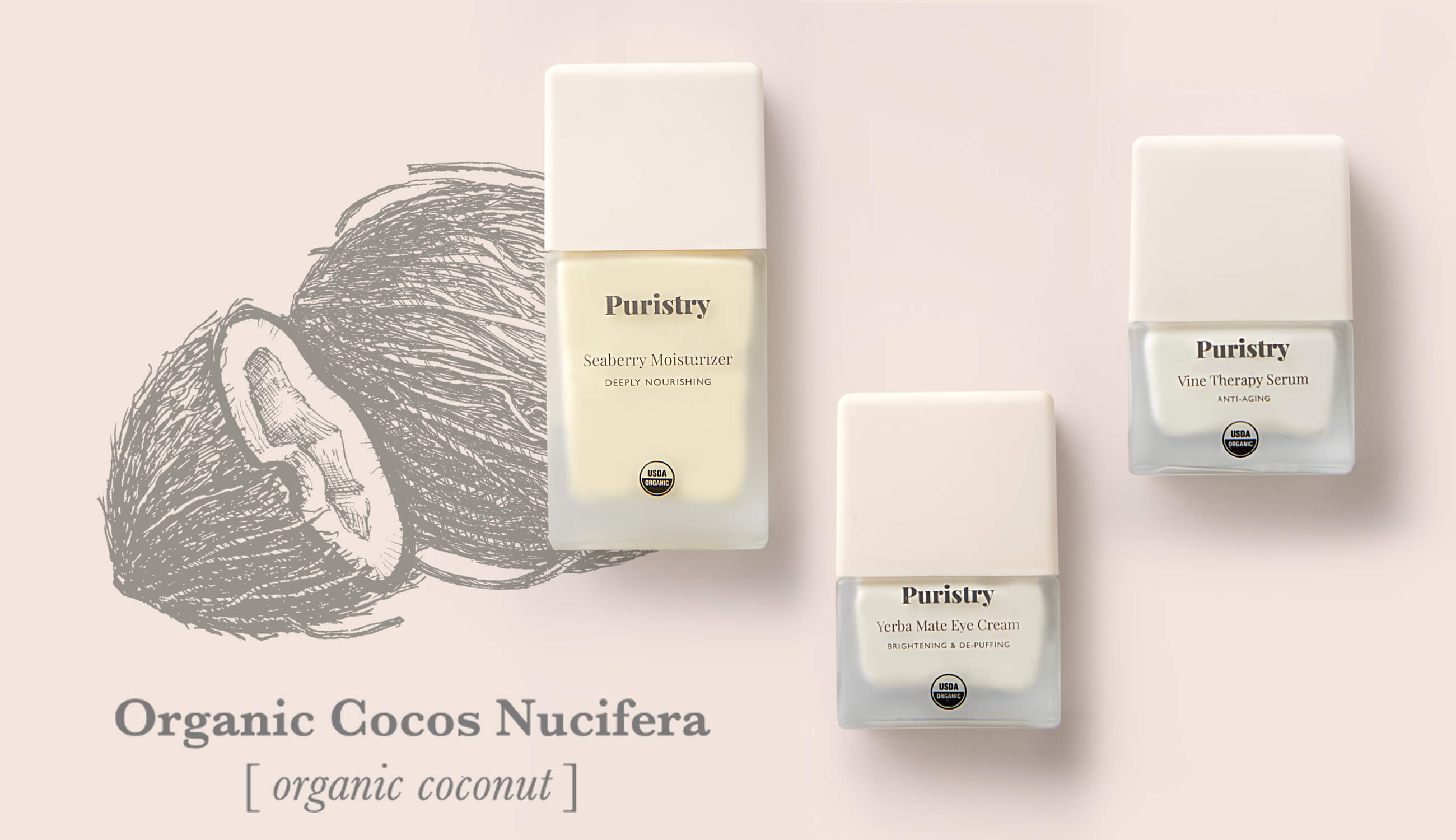 Organic Coconut Oil Puristry Family