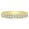 Scalloped Channel Band - 0.50 CTW (Smaller Stones)- Halfway Around