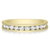 Scalloped Channel Band - 0.50 CTW (Larger Stones)- Halfway Around
