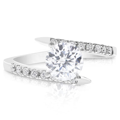 Cupid Bypass Engagement Ring