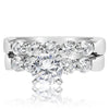 5 Stone Shared Prong Bridal Set - 0.15 Carat Diamonds