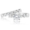 5 Stone Shared Prong Band - 0.15 Carat Diamonds