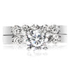 5 Stone Shared Prong Bridal Set - 0.10 Carat Diamonds