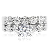 5 Stone Shared Prong Bridal Set - 0.20 Carat Diamonds