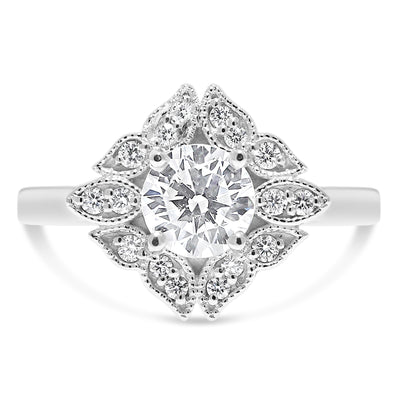 Modern Romance Engagement Ring