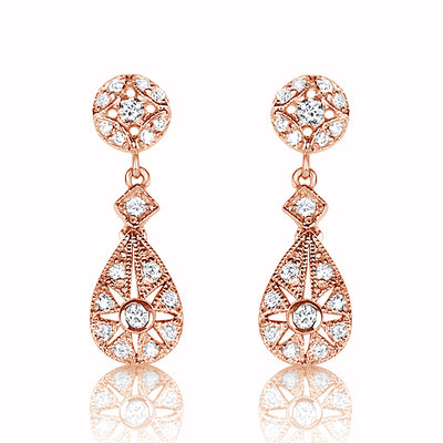 Petite Stardust Drop Earrings