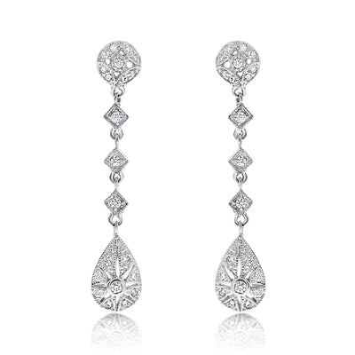 Grande Stardust Drop Earrings