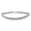 Illusion Set Tennis Bracelet