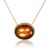 Sunstone Stationed Pendant Necklace