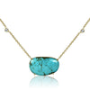 Turquoise Stationed Pendant Necklace