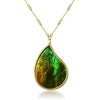 Ammolite Pendant Necklace