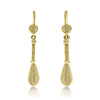 Gold Southwest Drop Earrings