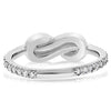 Figure-Eight Knot Ring