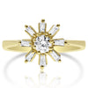 Sunburst Baguette Ring
