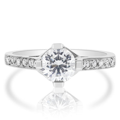 Blooming Engagement Ring