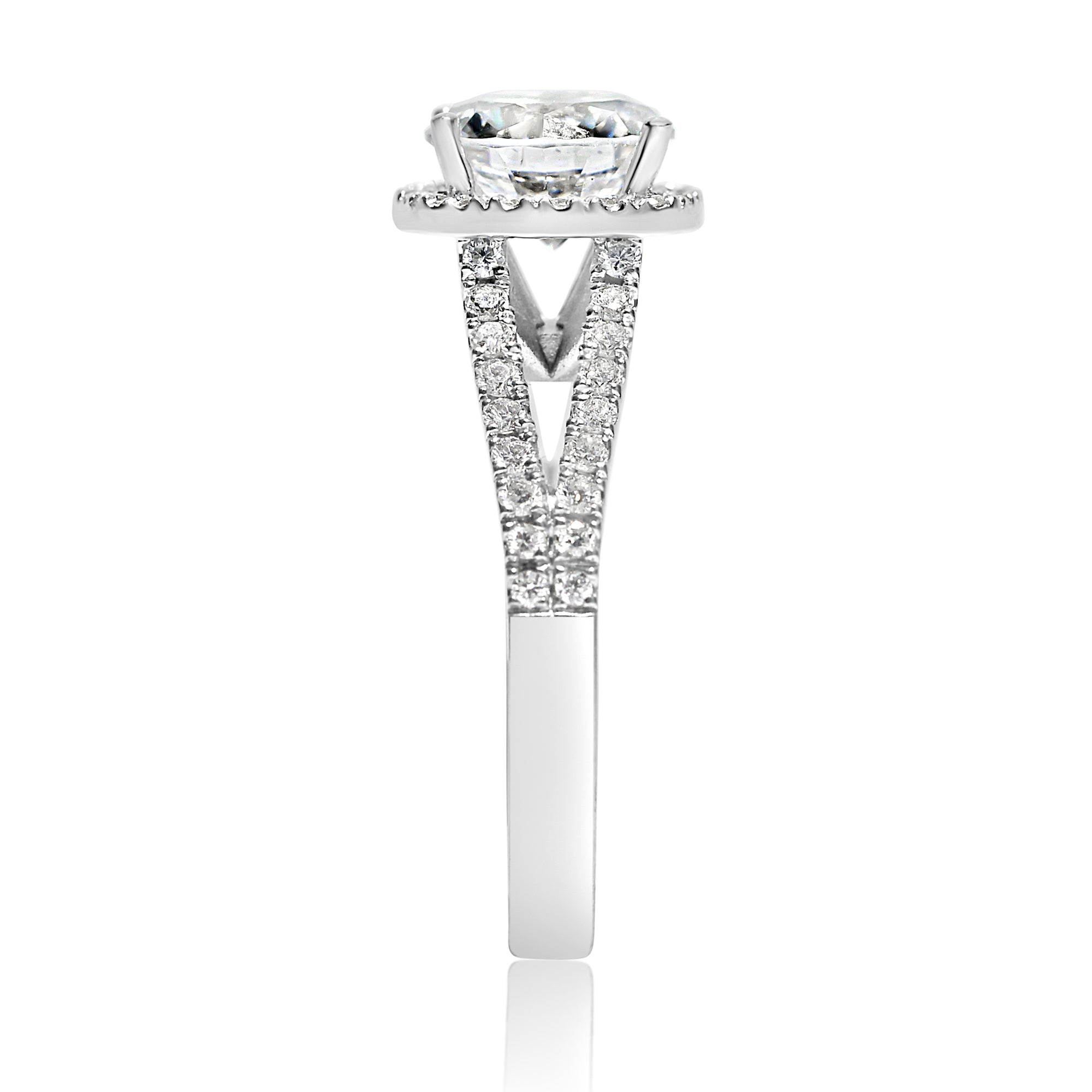 square center ctw shank ring with halo diamond saturn products rounded engagement