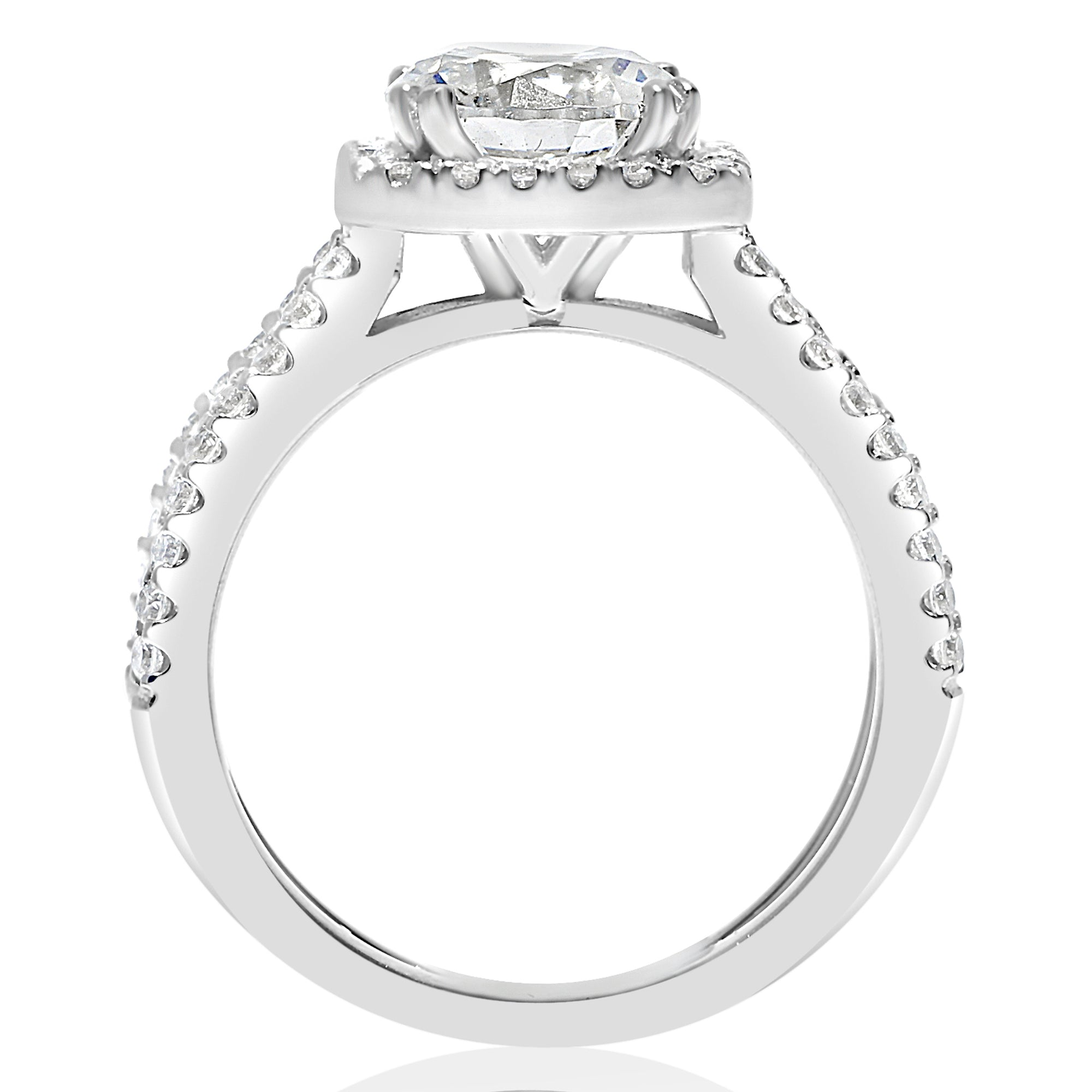 white ring showcase goldsmiths engagement diamond rings rounded mccaul solitaire contemporary