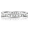 Princess Cut Channel Set Band - 2.00 CTW