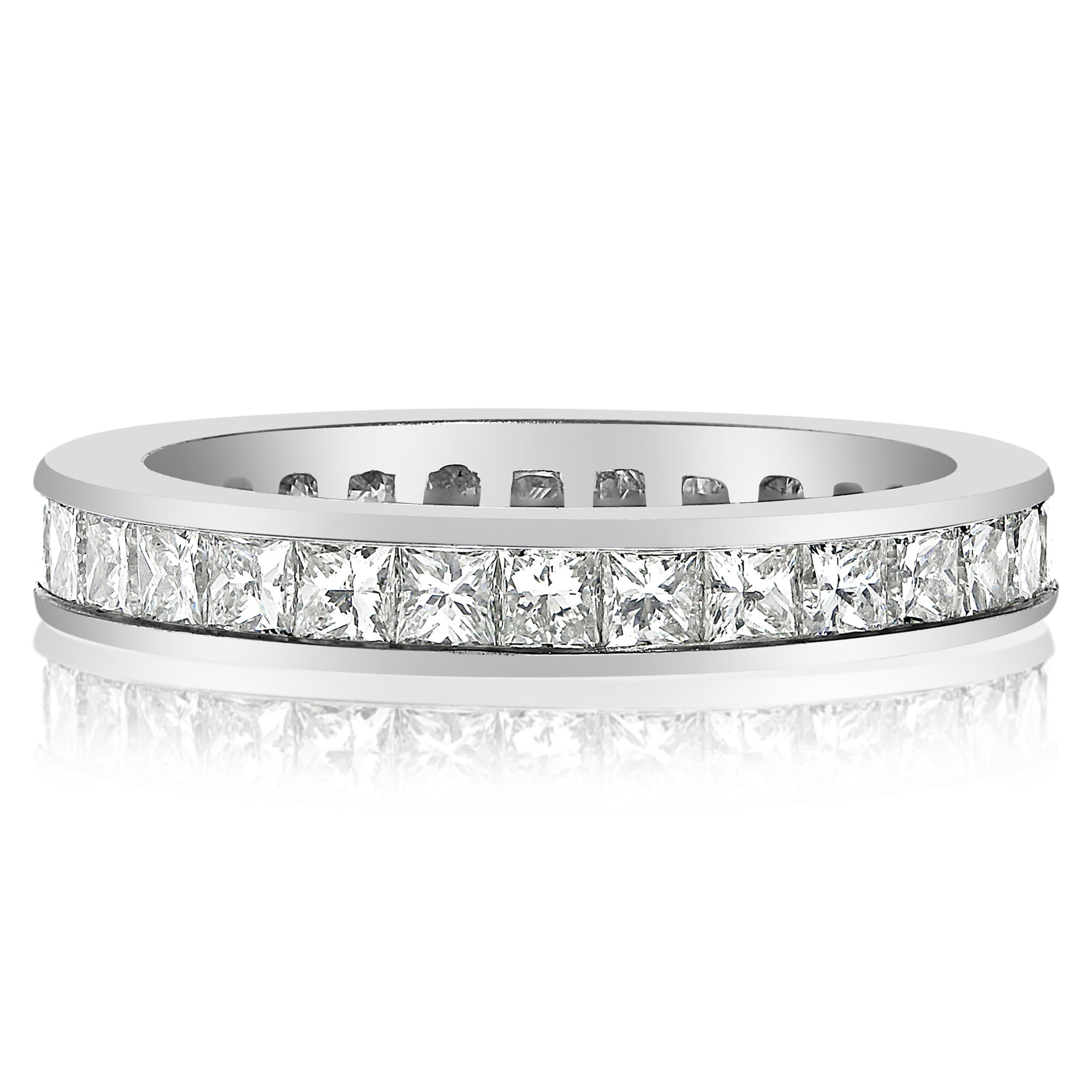 619aed7879c1e Princess Cut Channel Set Band - 2.00 CTW - NEI Group