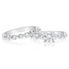 7 Stone Single Prong Band - 0.10 Carat Diamonds
