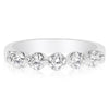 5 Stone Single Prong Band - 0.15 Carat Diamonds