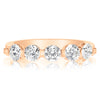 5 Stone Single Prong Band - 0.25 Carat Diamonds
