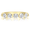 5 Stone Single Prong Bridal Set - 0.25 Carat Diamonds