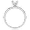 Skinny 4-Prong Engagement Ring - 2.5mm - Halfway Around