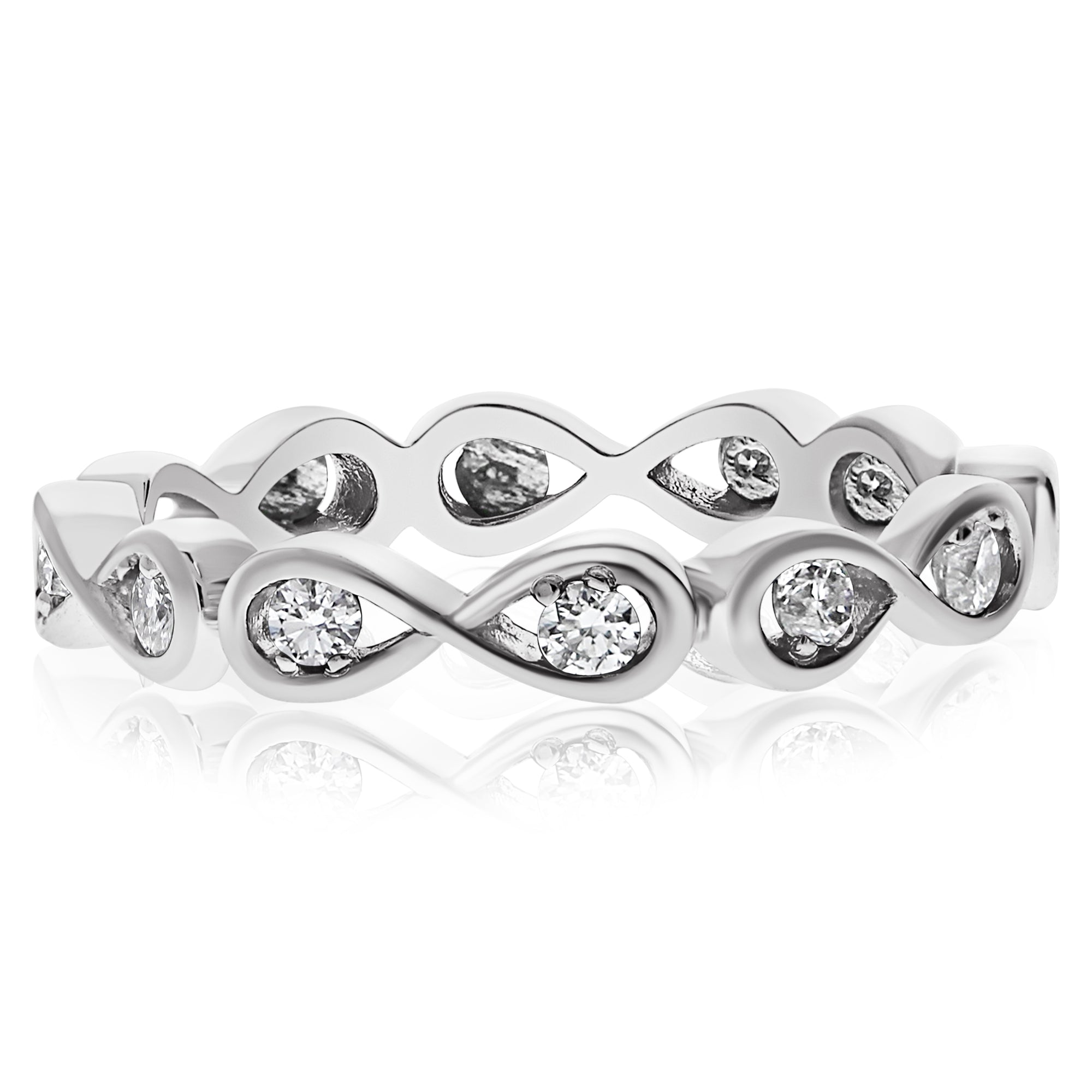 ring diamond p eternity band tw for infinity ct in bands shop platinum