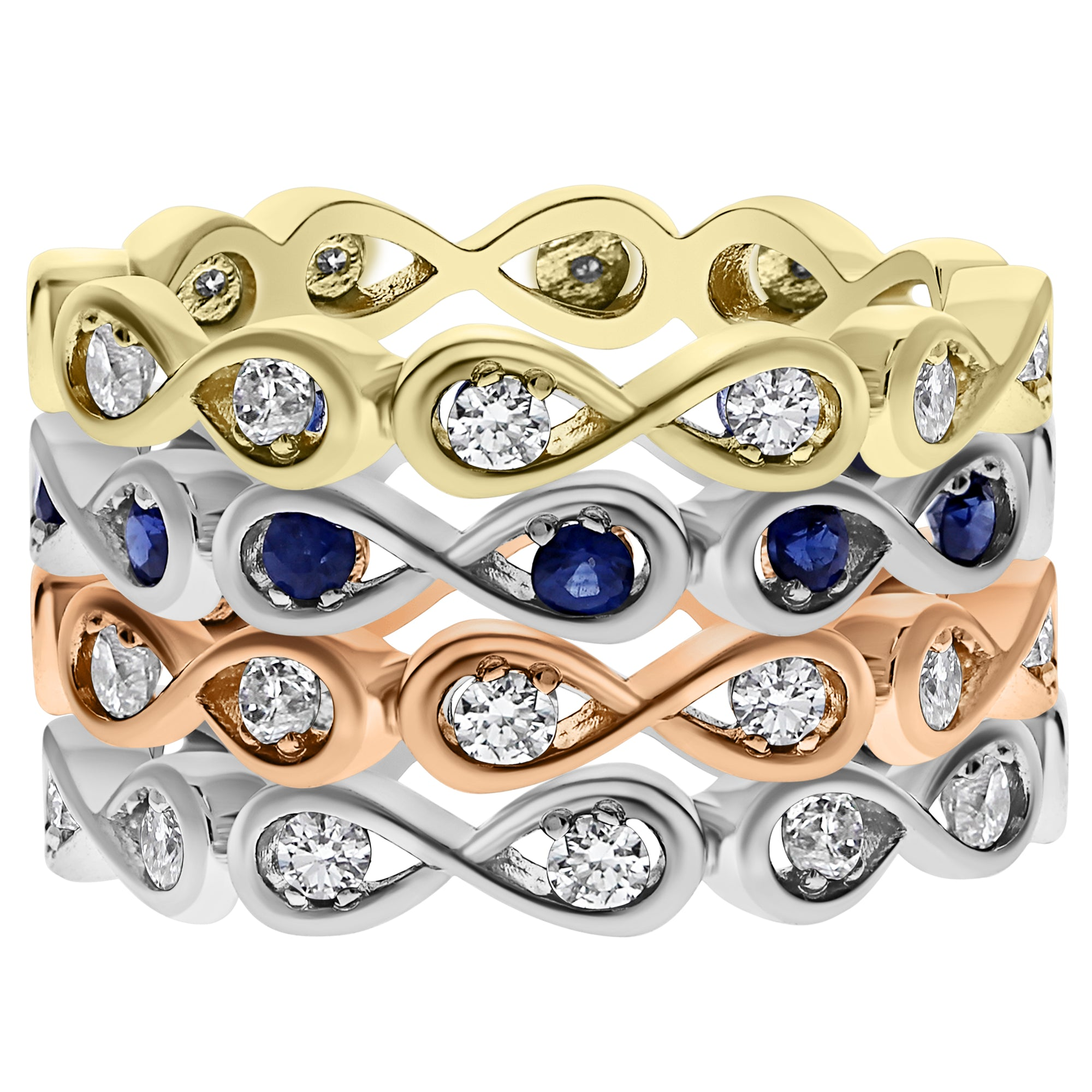 commission mayo jewellery infinity ring o sapphire ireland product galway nigel gold reilly dublin designer rose