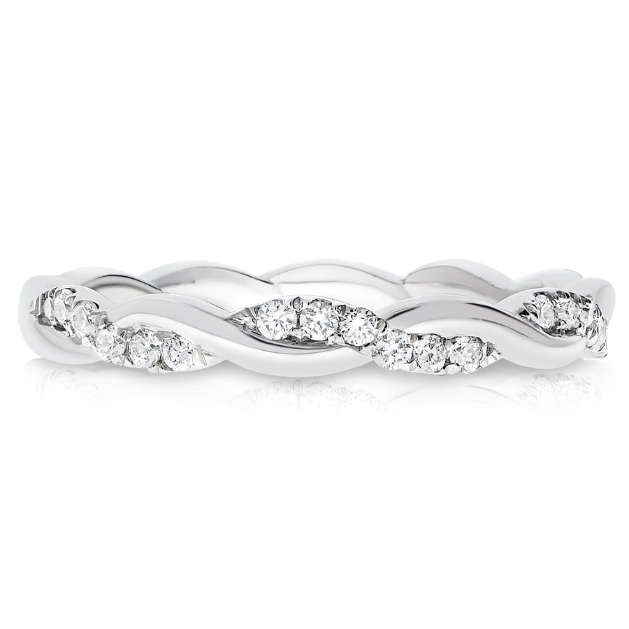Diamond Braided Band