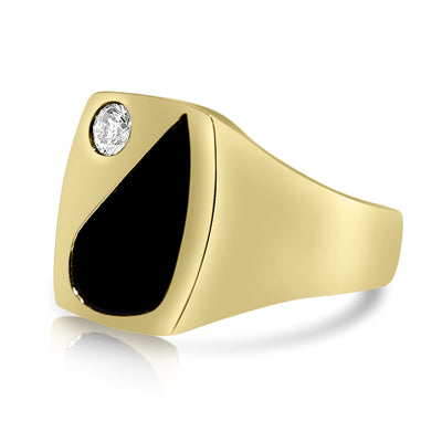Yin Yang Gents Ring