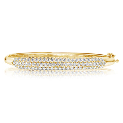 Pave Diamond Bangle