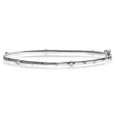 Diamond Dot Bangle