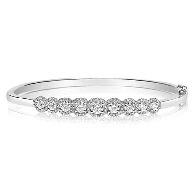 Halo Bangle - 1.70 CTW