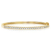 Quilted Bangle - 1.90 CTW