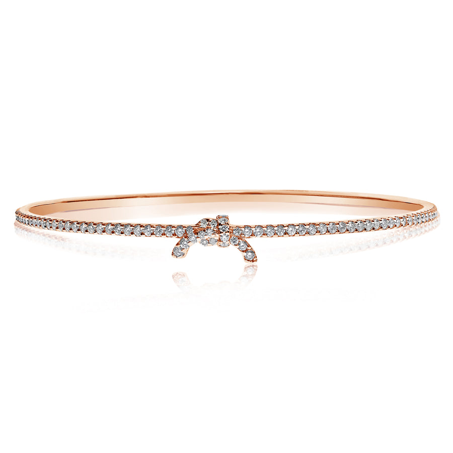 Gi Knot Diamond Bangle