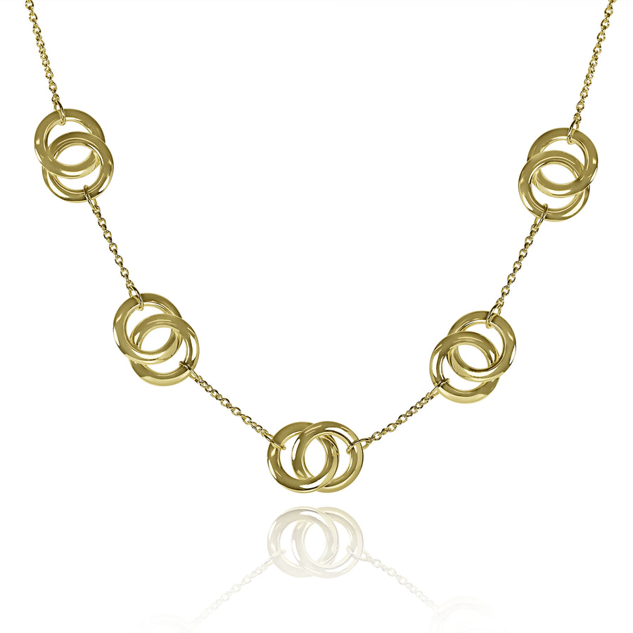 Gold Promise Links Necklace