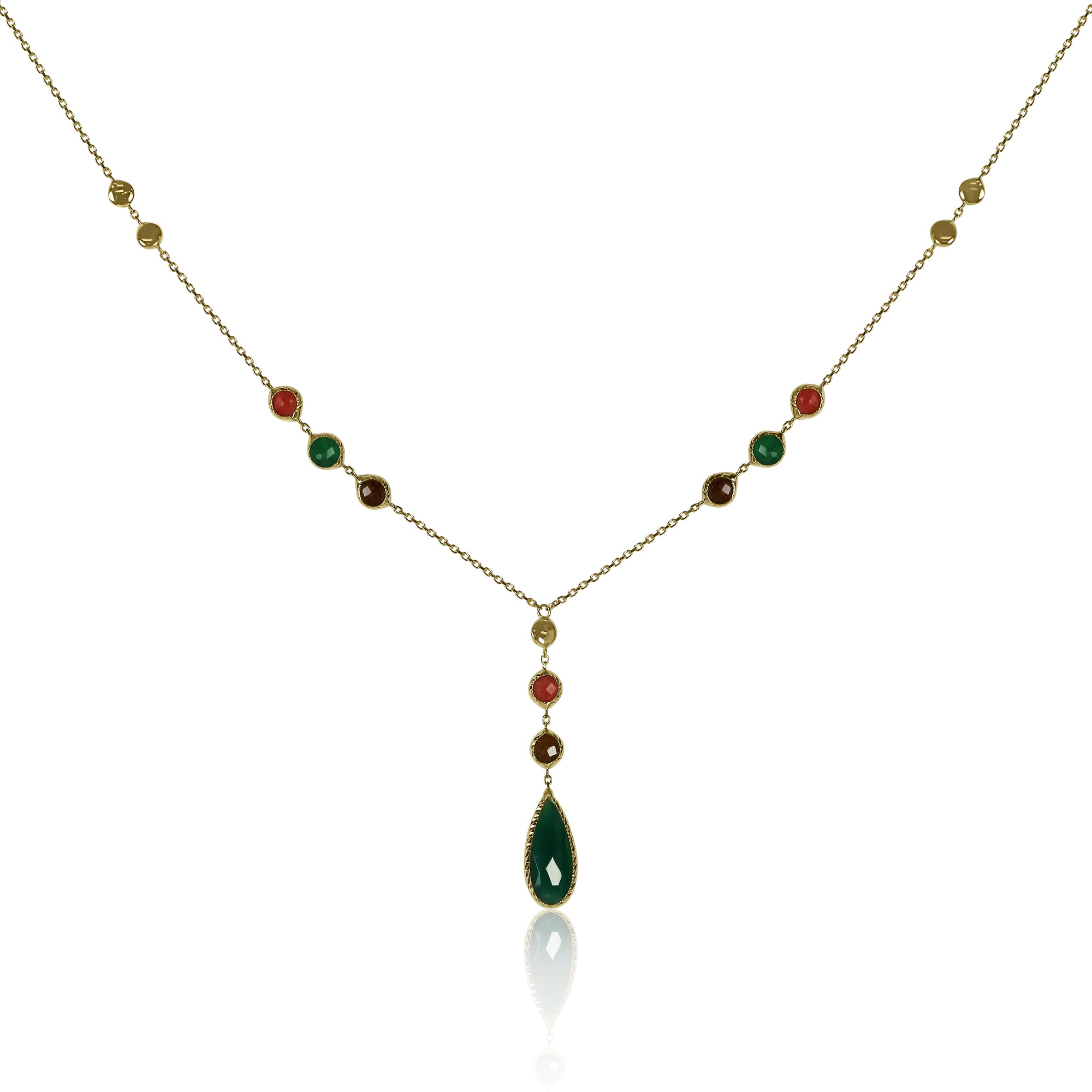 necklace pendant emerald watches gold free diamond jewelry tdw product stone overstock seraphina today shipping cut