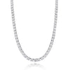 Wire Gallery Graduated Diamond Tennis Necklace - 16.00 CTW