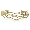 Medium Wave Gold Cuff