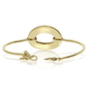 Single Gold Oval Bracelet