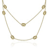 "Gold Promise Links 36"" Necklace"