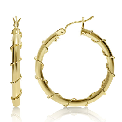 Nautical Circle Hoops