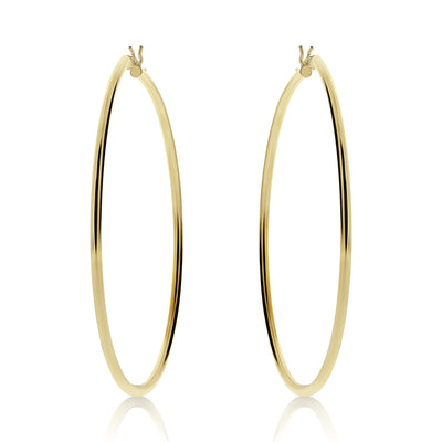 Basic Circle Hoops - Skinny