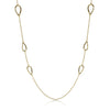 Gold Open Free Form Necklace