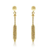 Gold Corn Drop Earrings