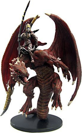 Red Dragonkin Rider #43 Reign of Winter Pathfinder Battles