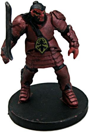 Hobgoblin Fighter #12 D&D Icons of the Realms: Tyranny of Dragons
