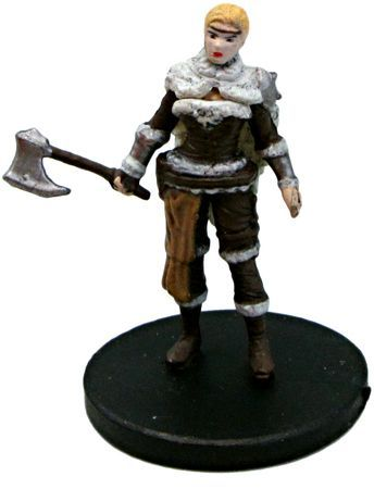 Human Female Barbarian #13 D&D Icons of the Realms: Tyranny of Dragons